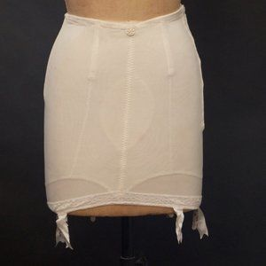 Vintage 1950s Girdle Zipped With Boning